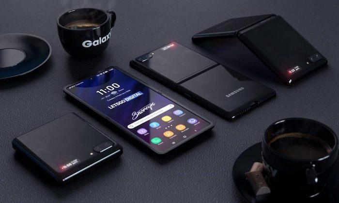 Un vidéo leak montre le smartphone pliable Samsung Galaxy Z Flip en action