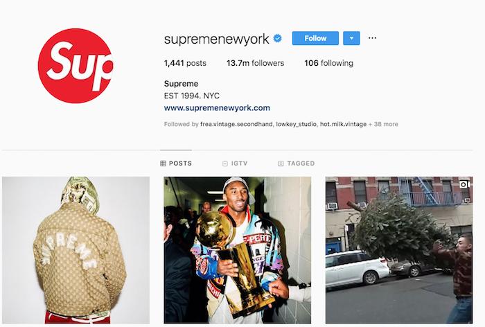 Supreme passe en mode printemps-été avec l'arrivée d'un prochain Supreme SS20