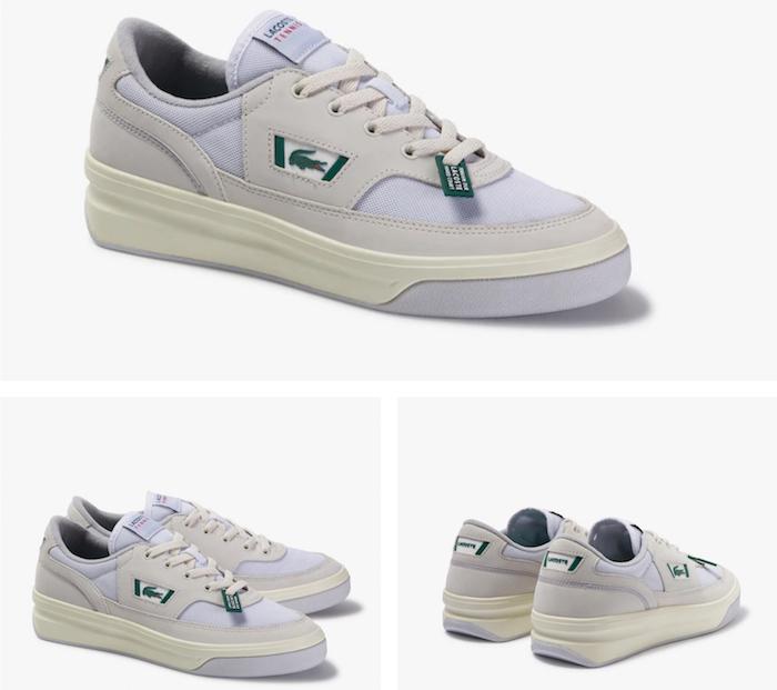 Lacoste réinvente trois paires de chaussures vintage pour son pack Lacoste Heritage