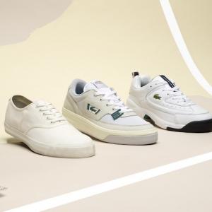 Le pack Lacoste Heritage réinvente trois modèles vintage de la marque