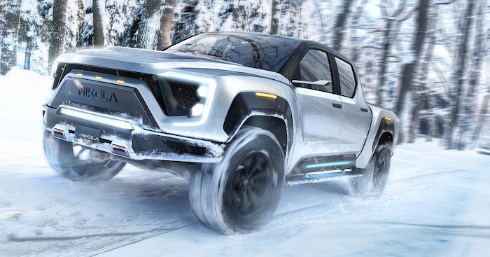 L'entreprise Nikola veut concurrencer les grands constructeurs américains avec son SUV Badger à hydrogène à l'autonomie record