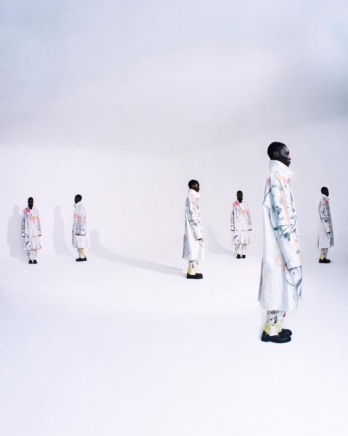 La collection Off White x Futura 2000 se dévoile un peu plus avec de nouvelles photos du photographe français Thibaut Grevet