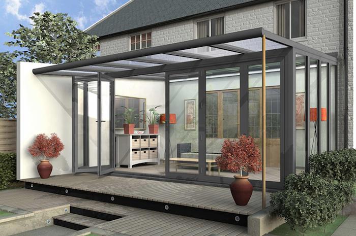 La véranda est une des solutions les plus prisées pour l'extension d'une maison
