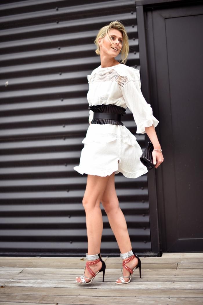 1001 Manieres De Porter La Robe Blanche Chic Pendant Toute L Annee