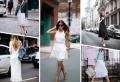 La robe blanche chic : 100 idées comment la porter selon la saison et l'occasion