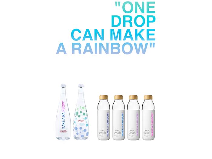 La collaboration Evian x Virgil Abloh revient en 2020 pour une nouvelle série de bouteilles en verre