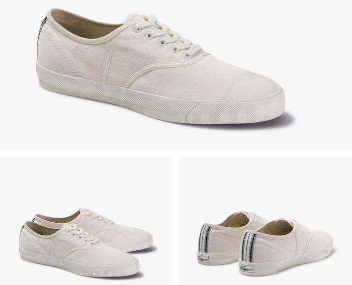 Lacoste fait renaître trois modèles de chaussures vintage dans son pack Lacoste Heritage