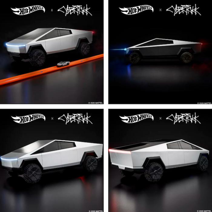 La marque Mattel lance une version télécommandée 1:10 du Cybertruck de Tesla