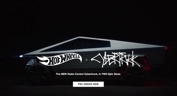 Découvrez le Cybertruck de tesla en version voiture télécommandée par Mattel Hot Wheels