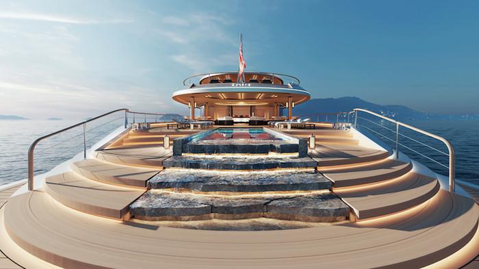 Aqua, le yacht super luxe à moteur à hydrogène de la marque hollandaise Sinot devrait prendre la mer en 2024