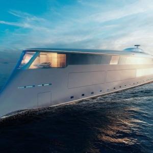 Aqua, le premier Yacht à hydrogène