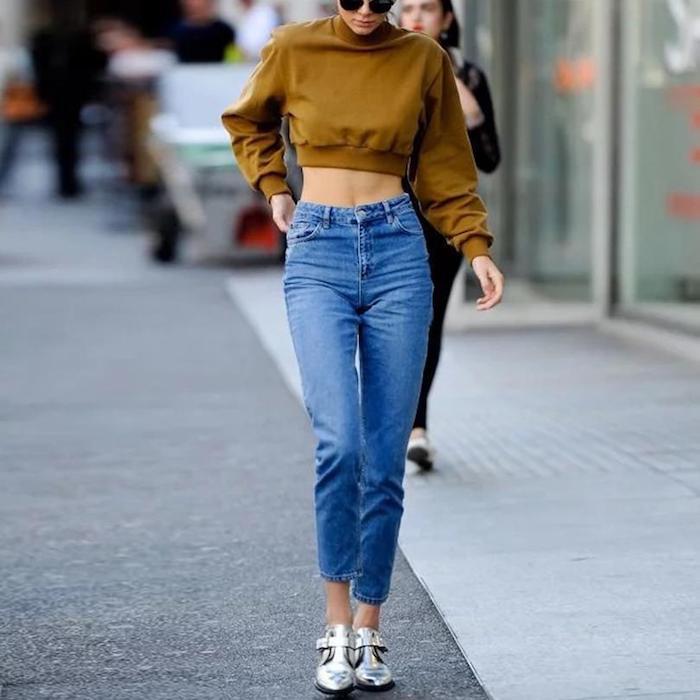 Cool jean mom style, mode annee 90 aujourd'hui, les éléments clé à adopter pour ses tenues