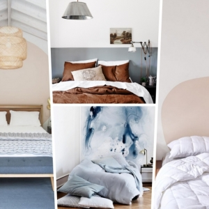 Tête de lit en peinture : une astuce déco phare pour changer facilement d'ambiance