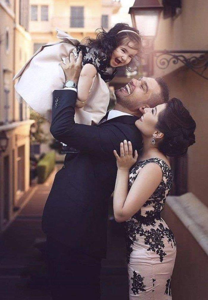 Mariage invitées mère fille coordonation des tenues, ensemble mere fille, tenue pour maman de fille