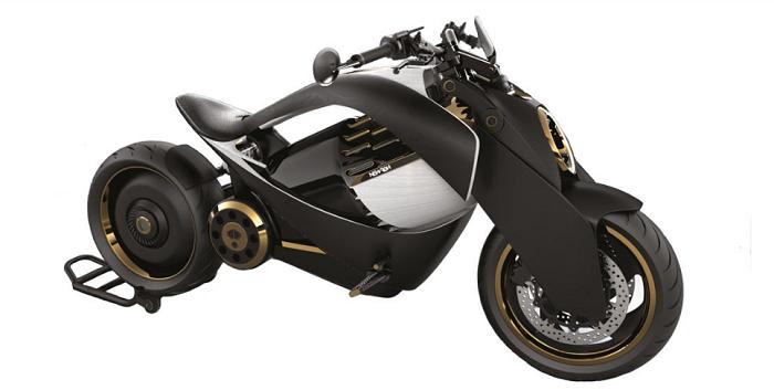 Newron Motors dévoile sa moto électrique avec carénage en bois exotique