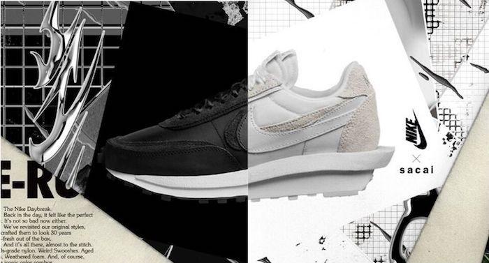 La sneaker Nike Waffle Sacai LDV de Chitose Abe revient en 2020 en coloris monochromes