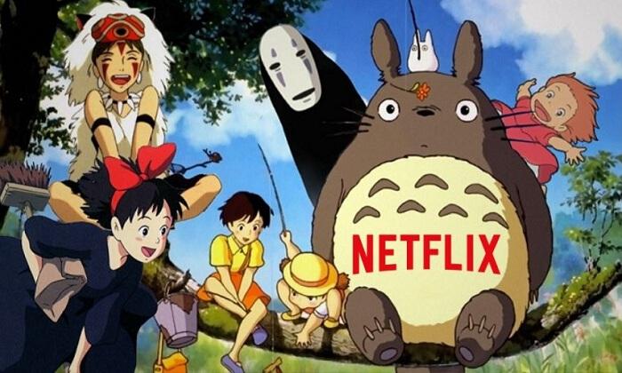 Les films des studios ghibli japonais arrivent dans le catalogue Netflix avril 2020