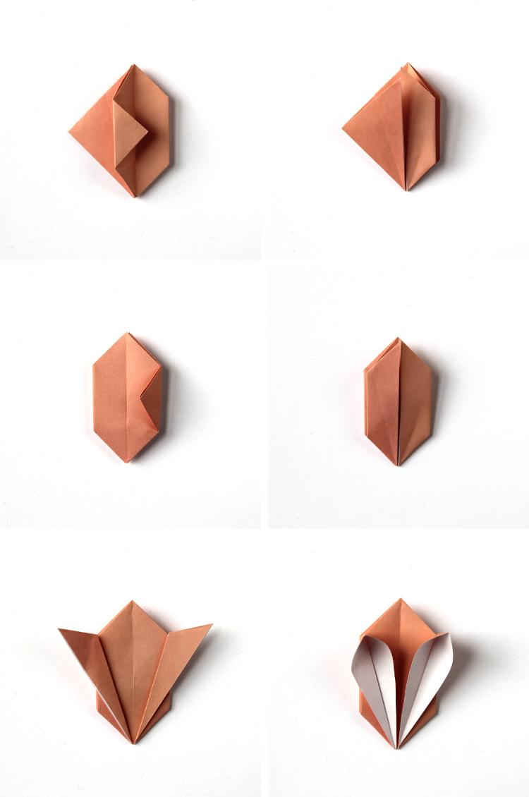 Comment plier le papier pour obtenir un lapin origami bricolage de paques, idee cadeau paques original pour la fete