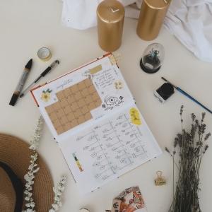 Créer son agenda personnalisé - le matériel indispensable pour vous y lancer