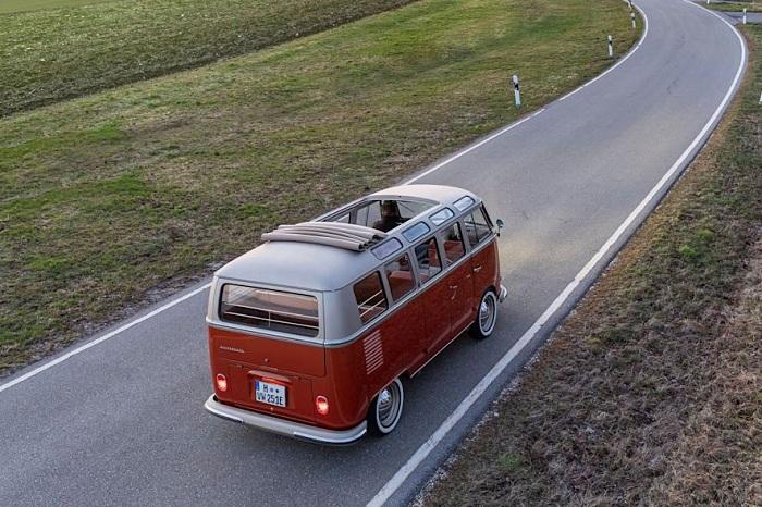 eClassics e-Bulli, le combi Volkswagen électrique à 'authenique look vintage