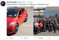 Tesla célèbre son millionième véhicule