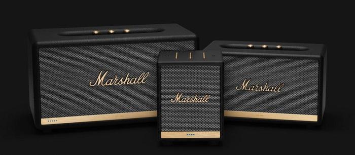 Uxbridge Voice, a nouvelle enceinte bluetooth Marshall compatible avec les assistants Alexa, Google et AirPlay 2 d'Apple