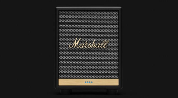 La nouvelle enceinte sans fil Marshall Uxbridge Voice sera compatible avec Airplay 2 d'Apple et Alexa