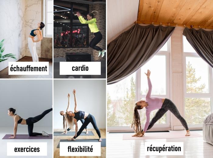 éléments essentiels à inclure dans sa programme d'entraînement au gym ou à la maison, idée d'exercice pour maigrir