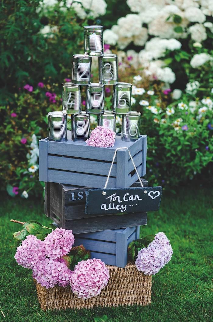 Originale idée comment organiser l'ordre des tables et les numeros style boheme chic, mariage champêtre chic décoration a faire