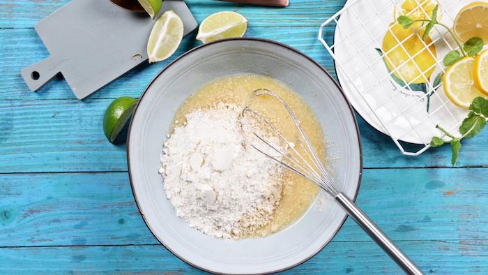 farine d amande et farine de coco pour faire petit gateau au citron cookies moelleux sans gluten et sans sucre blanc