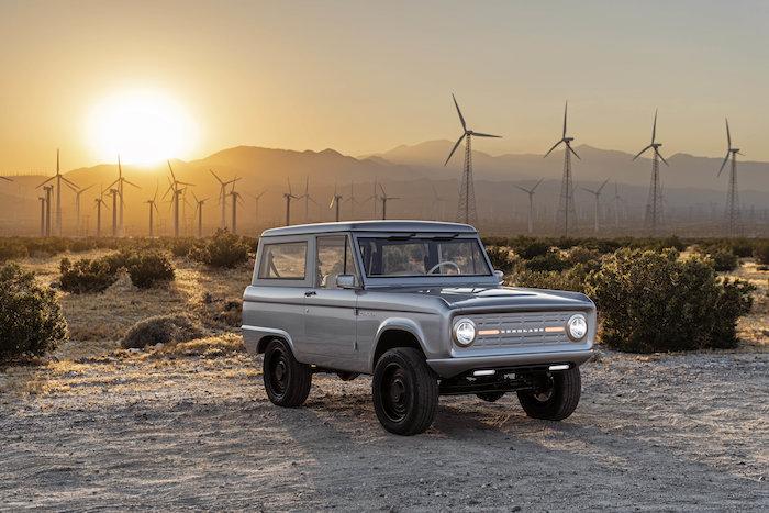 Zero Labs a créé sa propre version électrique du célèbre Ford Bronco de 1966