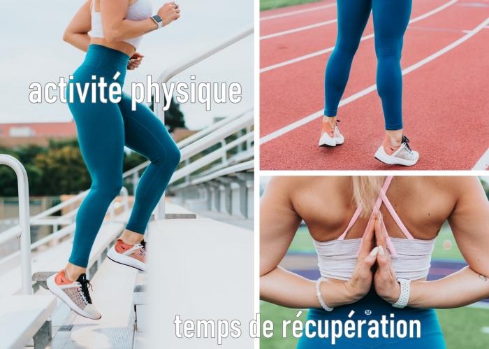 exercice cardio pour débuter son programme d'entraînement, exemple comment organiser sa semaine de sport avec temps d'entraînements et récupération