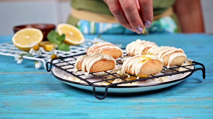 glaçage pour cookies au citron avec zeste de citron petit déjeuner sans sucre à faire soi meme recette cetogene simple et appétissante que manger le matin