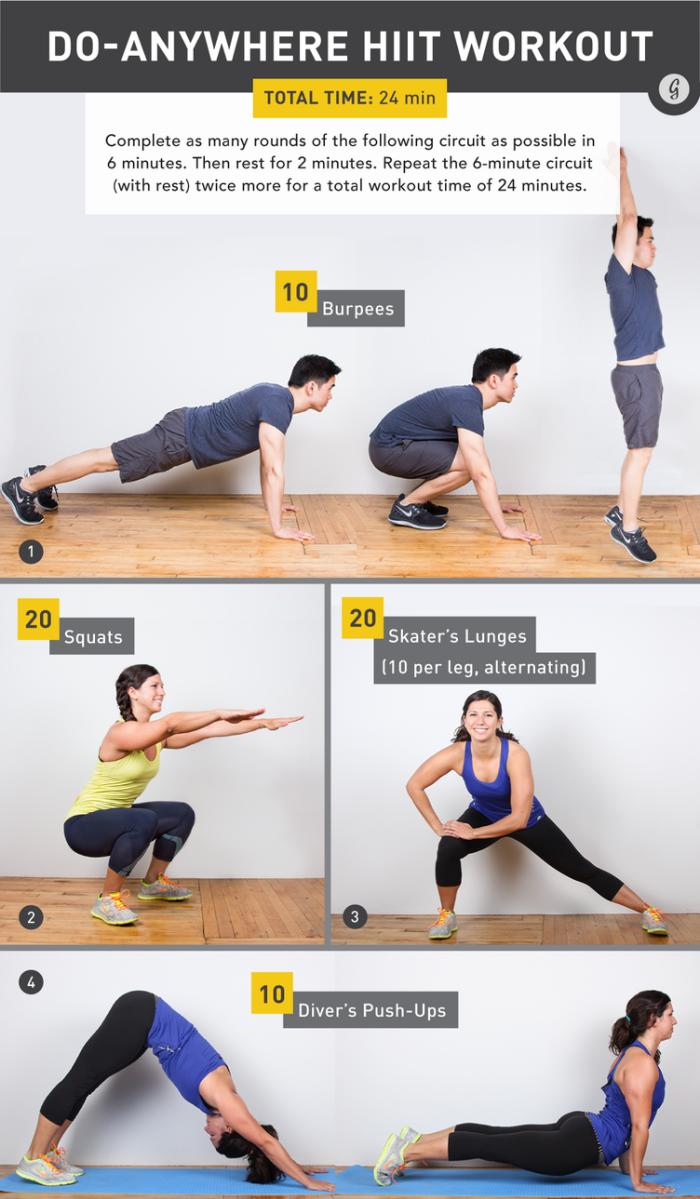 programme remise en forme pour femme et homme, idée de programme sport avec 4 exercices en quelques séries