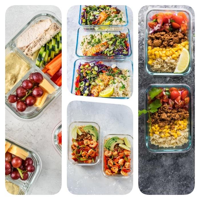 Idée Repas Sain ▷ 1001 + idées de repas de midi équilibré à emporter avec soi au