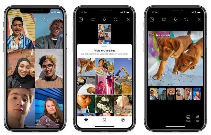Afin d'améliorer la vie confinée de ses abonnés, Instagram lance Co-Watching pour partager des publications lors de discussions vidéo