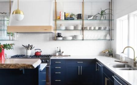 1001 Idees De Cuisine Bleu Nuit Et A Quelle Couleur L Associer