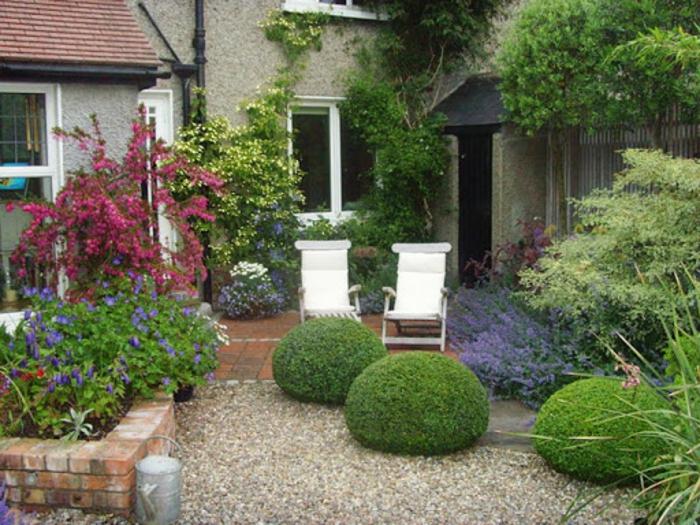 Belle décoration paysagiste idee jardin, bien organiser un coin terrasse aimable au jardin