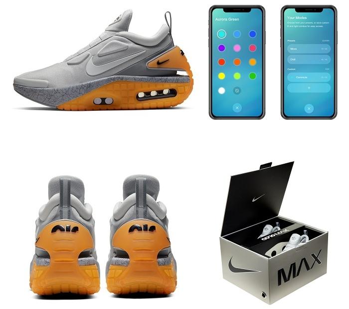 Sortie exclusivement au Japon le jour de l'Air Max Day 2020, l'Adapt Auto Max et ses lacets automatiques se contrôlent par application Nike dédiée