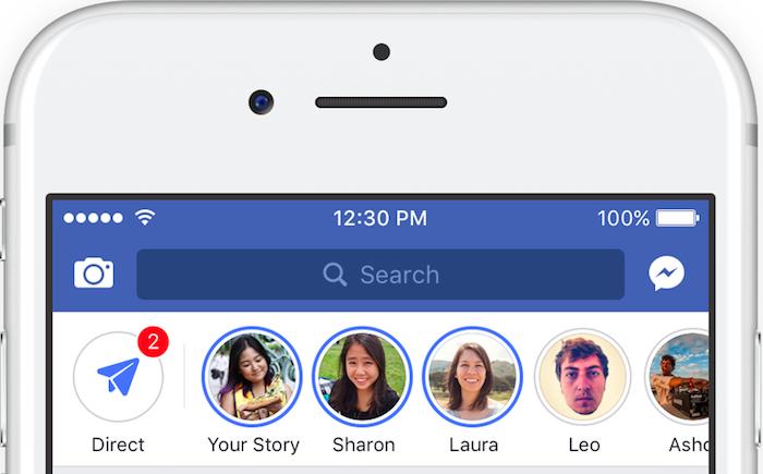 Une Story Facebook sera bientôt publiable sur Instagram, alors que seul l'inverse est pour l'instant possible