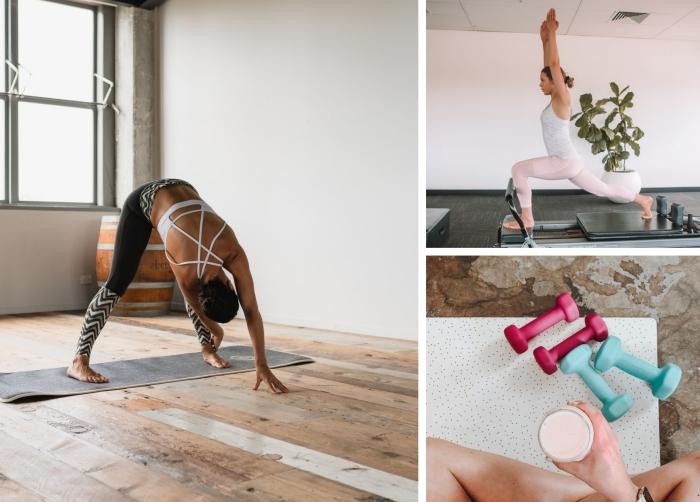 programme sport facile pour s'entraîner à la maison femme, quel type de sport pratiquer chez soi avec ou sans matériel