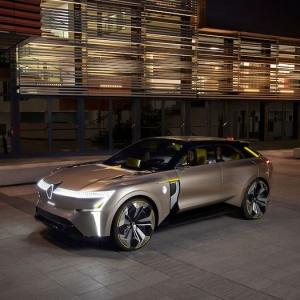 Renault Morphoz, le concept électrique à carrosserie étirable
