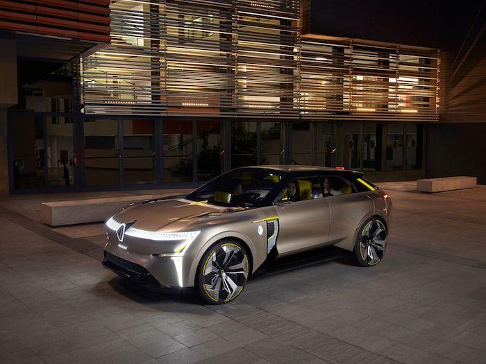 Renault a dévoilé Morphoz, son nouveau concept car électrique à carrosserie étirable