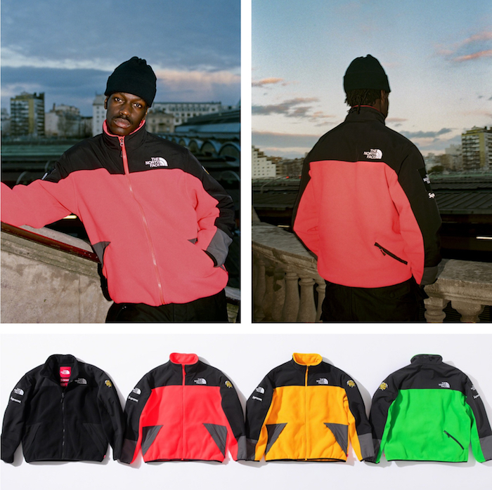 La collection Supreme x The North Face 2020 mise sur les vêtements imperméables en Gore-tex