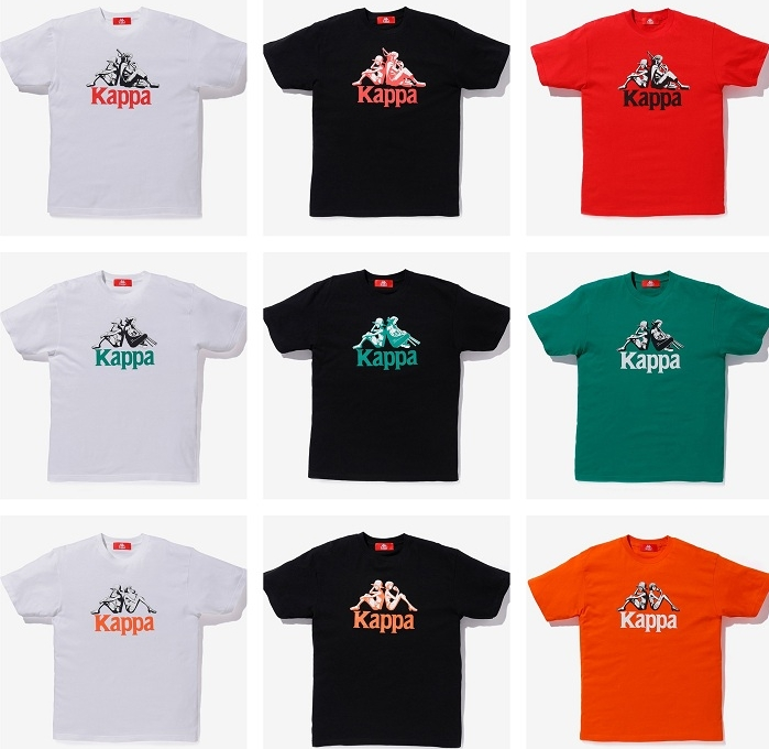 La collection Kappa x One Piece reprend le logo de la marque italienne avec Luffy et les autres personnages de One Piece VOSTFR