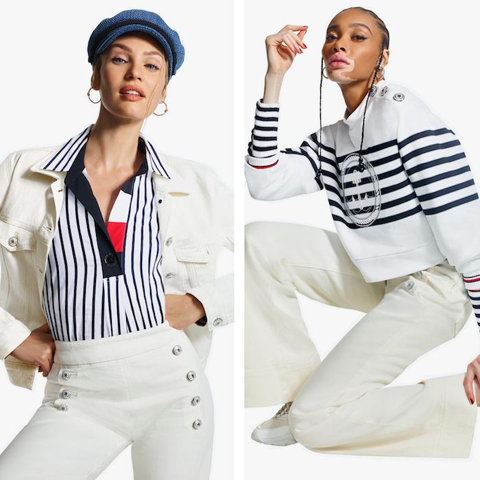 la marque Tommy Hilfiger lance sa nouvelle collection femme Icons pour le printemps 2020