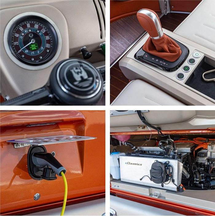 Avec e-Bulli, Volkswagen et eClassics redonnent vie au combi t1 en version électrique