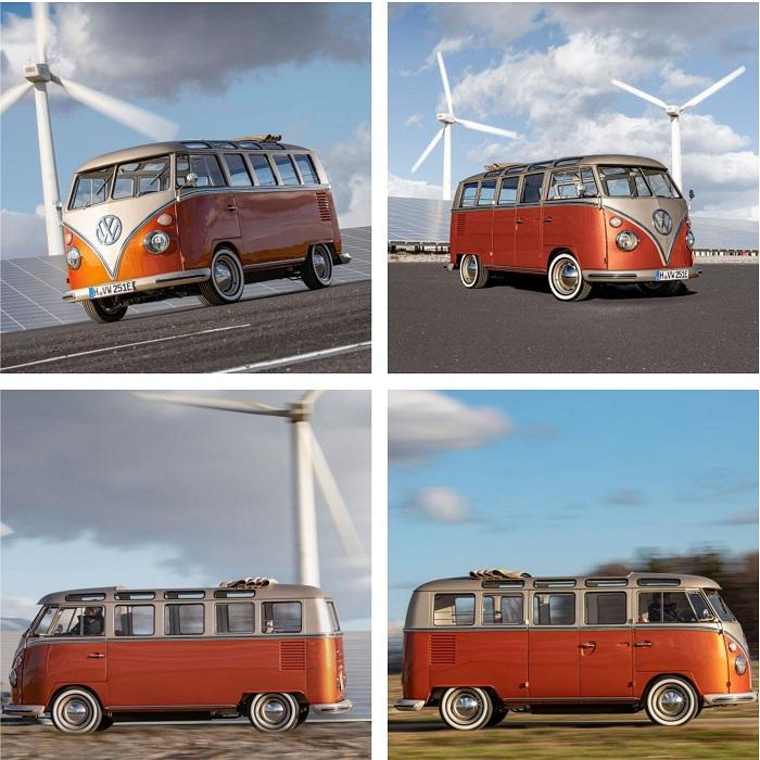 Volkswagen présente le combi électrique e-Bulli développé avec eClassics