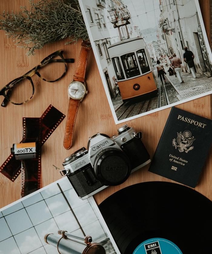 comment bien préparer son voyage aux USA, passport pour un voyage en Amérique