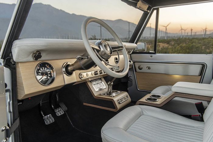 Alors que Ford planche sur un nouveau Bronco électrique, Zero Labs dévoile le sien au look vintage